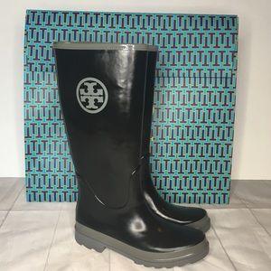 Tory Burch Rainboots 9